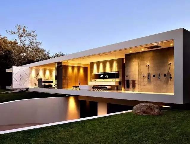 簡潔的造型 讓整棟房子
